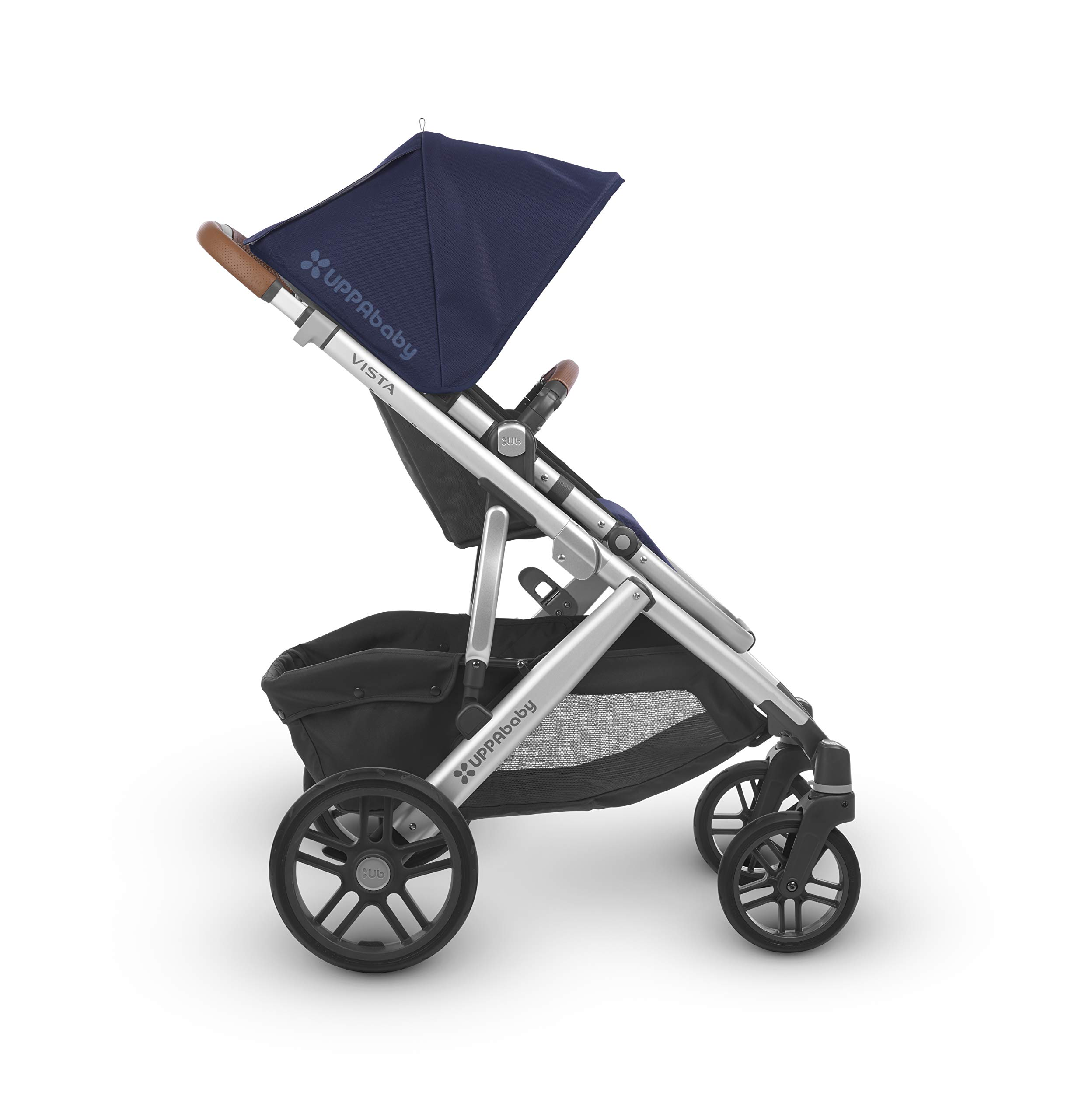 Uppababy Pushchair, Taylor Navy UPPAbaby A pushchair/ travel system with all weather protection Can be upgraded to carry two or three children with additional accessories Large basket 3