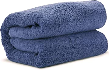 Aakouton 900 GSM Bath Towels, Extra Large (40 x 60 inch), Made of 100% Premium Egyptian 0 Twist Cotton.