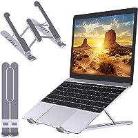 Babacom Support Ordinateur Portable, Support PC Portable Pliable et Ventilé, 6 Niveaux de Réglage, Refroidisseur…