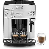 De'Longhi Magnifica ESAM 3200.S Kaffeevollautomat mit Milchaufschäumdüse für Cappuccino, mit Espresso Direktwahltaste, 2…