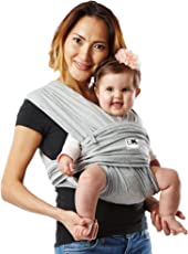 Baby K'tan Original Baby Carrier - Small (Heather Gray)
