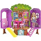 Mattel Barbie FPF83 Chelsea boomhuis speelset en pop