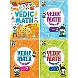 VEDIC MATH WORKBOOK (SET OF 4 activity BOOKS)