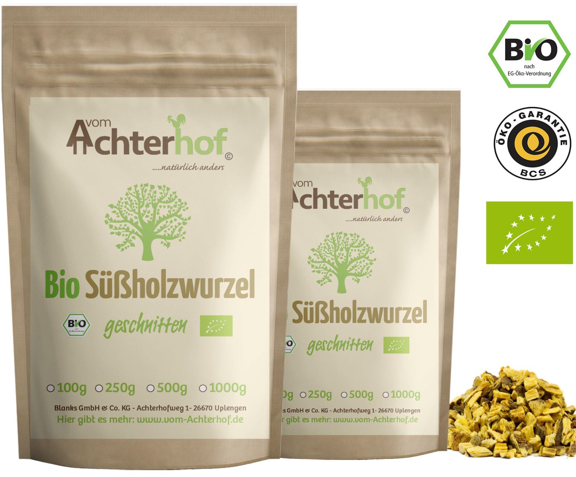 Sholzwurzel-Tee-BIO-500g-Sholzwurzeltee-Sholz-Wurzel-getrocknet-geschnitten-enthlt-Lakritz