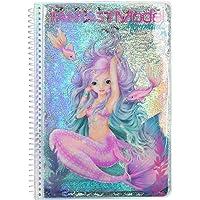 Depesche 10472 Fantasy Model Mermaid Livre de coloriage env. 17 x 23,5 x 1,5 cm