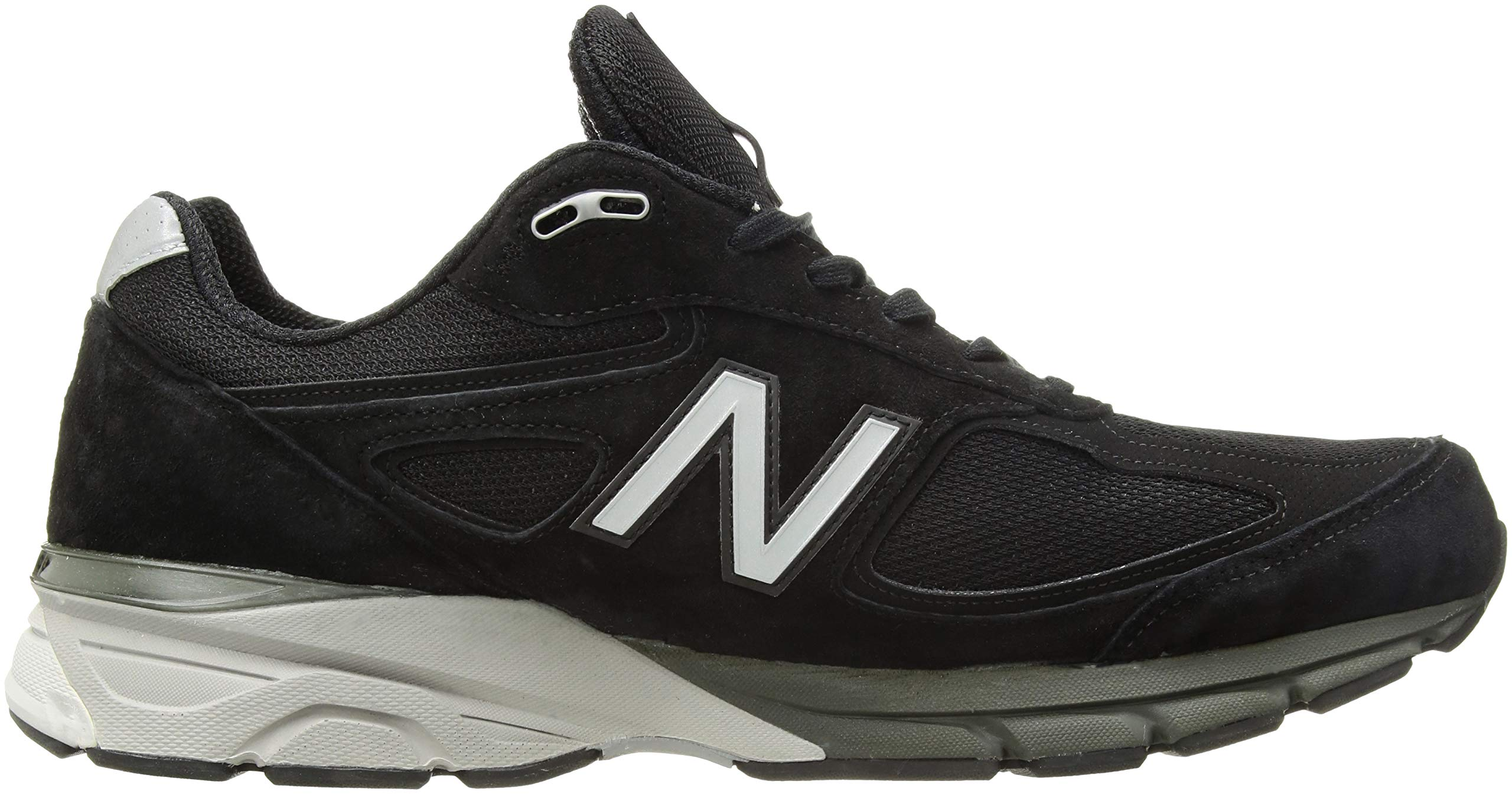 81IMqaQDEdL - New Balance Mens M990 990v4 Black Size: 7.5 Wide