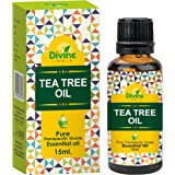 Divine India Tea Tree Essential Oil, 15ml