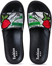 Zenwear Slide Slipper for Women, Black