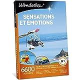Wonderbox - Coffret cadeau homme - SENSATIONS ET EMOTIONS - 6600 activités sportives: pilotage de Ferrari, saut à l'élastique