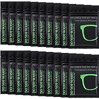 Lingettes Microfibre Anti-Brouillard Tissu Anti-Buée Chiffon Réutilisable Nettoyant de Désembuage pour Lunettes Lunettes…