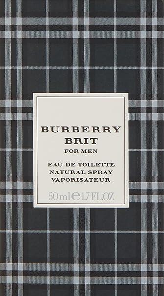 burberry brit eau de parfum spray p75z  BURBERRY Brit For Men Eau de Toilette Homme