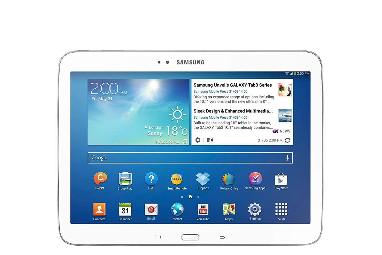 Samsung Galaxy Tab  inch White dp BECCL