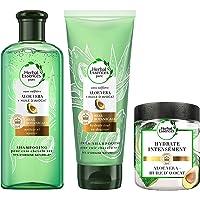 Herbal Essences Pure Shampoing 225 ml, Après Shampoing 180 ml et Masque 250 ml, pour Cuir Chevelu Sec avec Aloe Vera et…