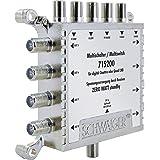 Technisat Technirouter 5 1 X 8 G R Kaskadierbar Digitale Einkabellösung Für 8 Teilnehmer 8 Signale über Ein Kabel Unicable Baumarkt