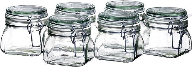 Domestic by Mäser Serie Gothika 6-er Set Einmachglas 9 cl langlebig und pflegeleicht im Gebrauch
