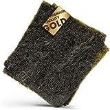 Reishunger Alga Nori Fogli Interi per Sushi in Qualità di Oro 140g (50 x 2,8g) - Alghe Nori per Maki Sushi