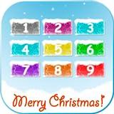 Del telefono del bambino di Natale - gioco carino con i numeri, caratteri invernali e canzoni per i bambini