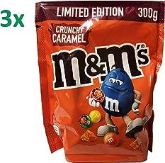 m&m crunchy caramel limited Edition (3x300g Beutel)
