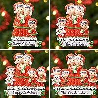 Décoration de Noël personnalisée avec arbre, boule de Noël, Noël, famille | Famille Pyjama | Groupes 2,3,4,5 et 6…