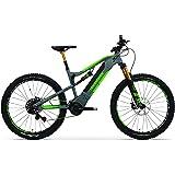 TechniBike VOTARO FS 27,5 Zoll E-Bike (Pedelec, Elektrofahrrad, Full Suspension Mountainbike, 600Wh Continental Akku…