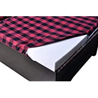 Soulful Creations Cotton Mattress Cover Protector for Diwan with Zip (Multicolours, (72 X 48 X 6 ) nches) (1)