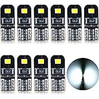 AGLINT Ampoules T10 LED CANBUS 12V Blanc Pas De Polarité Conçu W5W Wedge Intérieur De Voiture Lumière Dôme Feux De…