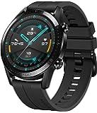 HUAWEI Watch GT 2 Smartwatch (46mm Full-Color-AMOLED, SpO2-Monitoring, Herzfrequenzmessung, Musik Wiedergabe&Bluetooth…