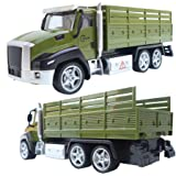 Toyshine Diecast Pull Back Army Carrier Truck Toy for kids Die Cast Metal Car Kids Toy Collection Green