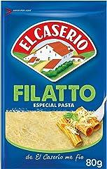 El Caserío - Queso Rallado Filatto, Especial para Pasta - 80 g