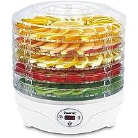 SUNTEC Séchoir à fruits FDH-8595 Dörthe digital [Séchage lent d'aliments sur 5 niveaux, thermostat 35-70°C, minuterie…