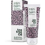 Australian Bodycare Intim Balm 100 ml | Tea Tree Oil aftershave till intimområdet efter rakning mot röda knoppar, inåtväxta h