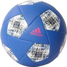 Adidas AZ54433 Football, Men's Size 3 (Blue/Shock Pink/White)
