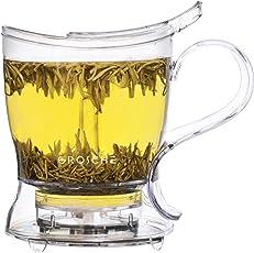 GROSCHE Aberdeen Teebereiter, Tee-Infuser, Teekanne - BPA-frei & aus lebensmittelechtem Tritan
