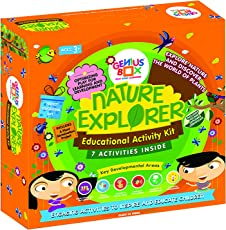 Genius Box - Play some Learning Nature Explorer Educational Toys for Children (Multicolour)