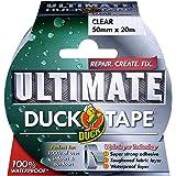 Duck - Nastro adesivo in tessuto, trasparente, 222150 0 wattsW, 0 voltsV