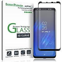 Galaxy S8 Vetro Temperato Pellicola Protettiva, amFilm Copertura Totale (Curva 3D) Protezione Schermo per Samsung Galaxy…