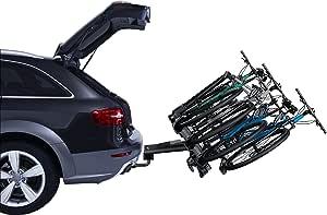 Thule 927 Velocompact 4 Bike Fahrradträger Anhängerkupplung Für Anhängerkupplung Halterung Neigbar Sperren Auto