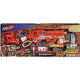 Hasbro Nerf E1754EU4 Zombie Strike Scravenger, Spielzeugblaster mit umfangreichem Zubehör, Multicolor