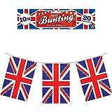 Con diseño de la bandera del Reino Unido de 30.48 cm.
