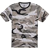 Brandit T-Shirt, Many (Camo Colors, Sizes S to 7XL