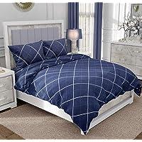 """RRC Cotton 200 TC Quilt Cover (Blue_90""""x100"""")"""