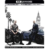 Fast & Furious Presents: Hobbs & Shaw (Steelbook) (4K UHD + Blu-ray 3D + Blu-ray) (3-Disc)