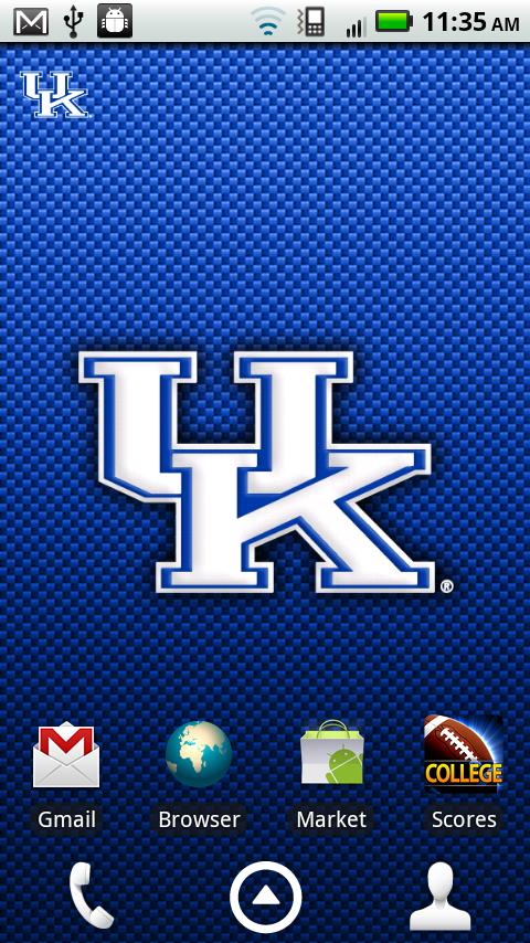 Kentucky Wildcats Revolving Wallpaper: Amazon.co.uk ...