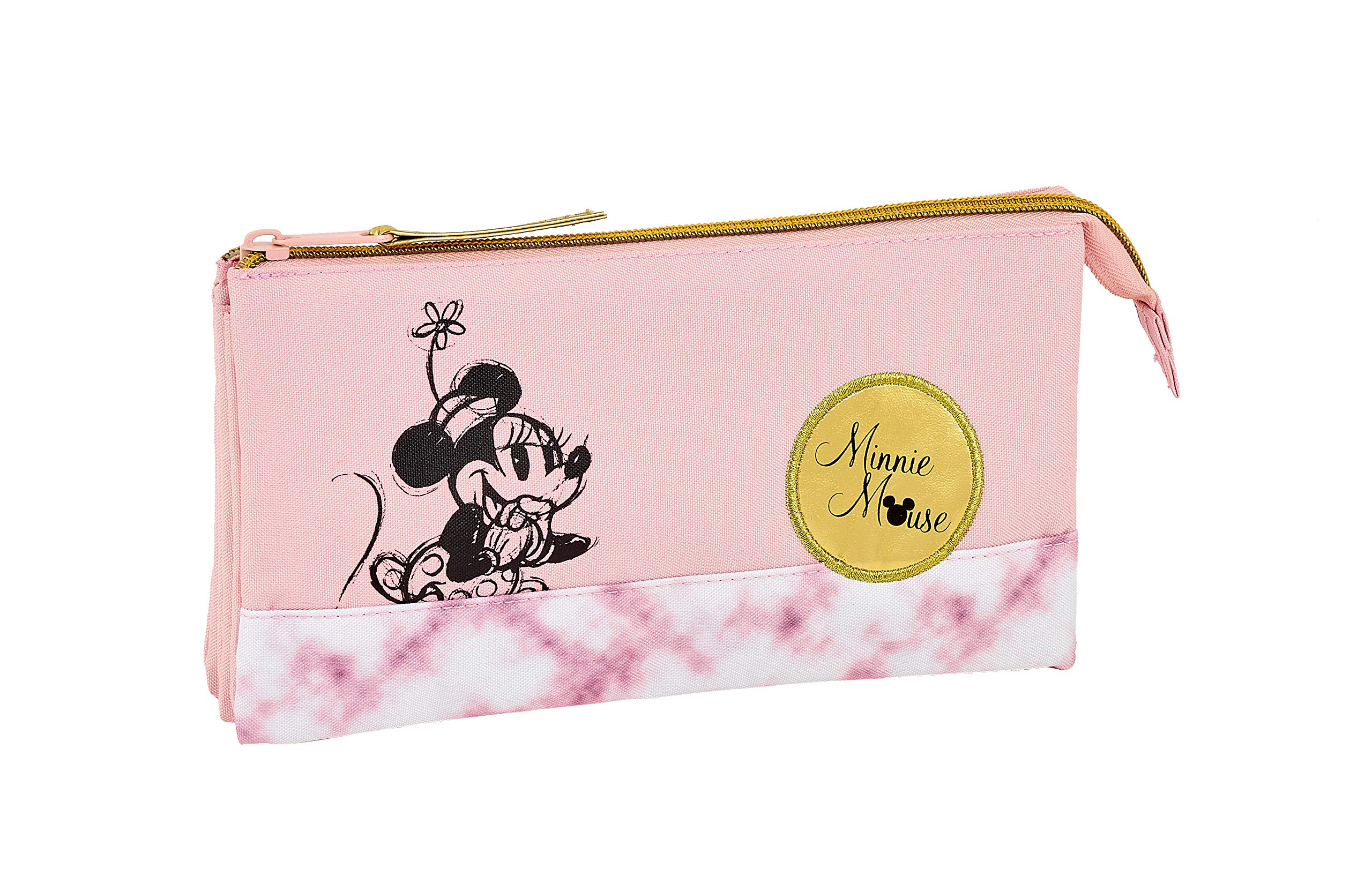 Minnie Mouse «Blogger» Oficial Estuche Escolar 220x30x100mm