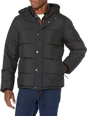 Amazon Essentials Men's Heavy-Weight Hooded Puffer Coat
