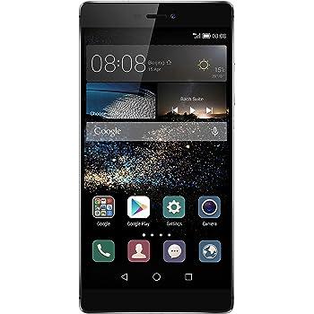 """Huawei Ascend P8 Smartphone, Display 5.2"""" FHD, Memoria RAM da 3 GB, Processore HiSilicon Kirin 930 Octa-Core, Fotocamera Principale 13 MP, Grigio"""