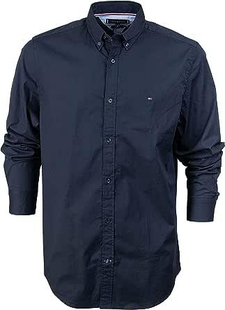 Tommy Hilfiger Core Stretch Slim Poplin Shirt Camicia Uomo