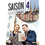 Saison: Livre de l'eleve B2 + DVD-Rom