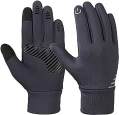 Vbiger Kinder Handschuhe Winterhandschuhe Radhandschuhe Leichte Anti-Rutsch Laufen Handschuhe Touchscreen Handschuhe für Jungen und Mädchen
