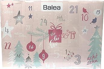 Balea - Adventskalender 2018 - Advent Calendar - Beauty - Kosmetik - MakeUp - Limitiert